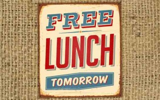 Is there a free lunch?